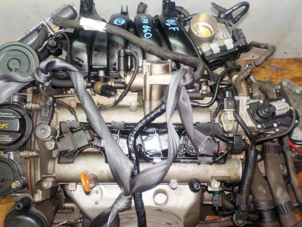 Двигатель Volkswagen BLF - 079660 AT FF WWWZZZ1K25W197305 90 000 km коса+комп 2