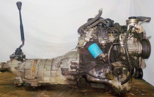 Двигатель Toyota 7K - 0223811 5MT FR carburator 3