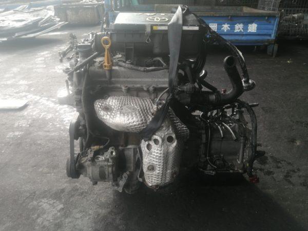Двигатель Daihatsu K3-VE - 1880913 AT A4B-01A FF QNC20 122 000 km коса+комп 3