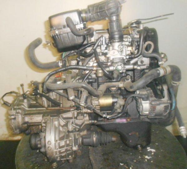 Двигатель Suzuki F6A - 2580766 AT FF селектор и охл.сверху 3