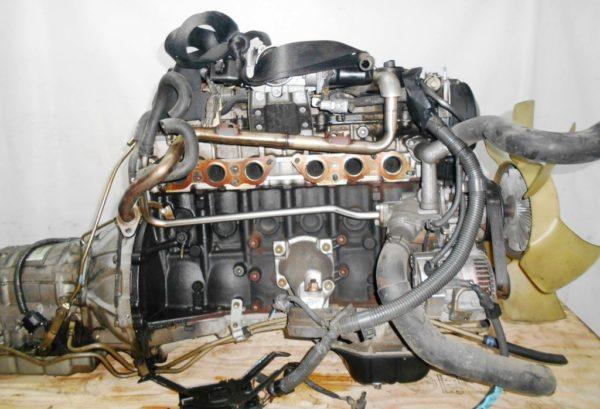 Двигатель Toyota 2JZ-FSE - 0753420 AT 35-50LS A650E-A02A FR JZS177 119 000 km коса+комп, нет выпускного коллектора 5