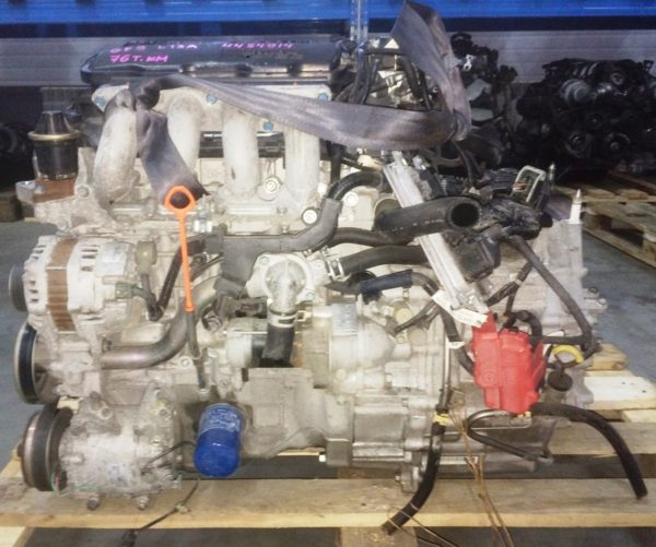 Двигатель Honda L13A - 4484914 CVT SE5A FF GE6 76 000 km коса+комп 1
