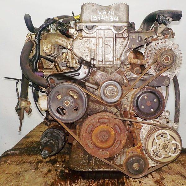 Двигатель Nissan KA24-DE - 137443U AT FF с датчиком скорости коса+комп 4