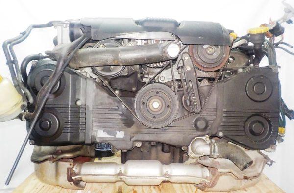 Двигатель Subaru EJ20-TT - B486342 AT TV1B4YBDAB 4WD BH5 EJ206DXDBE 153 967 km комп 1