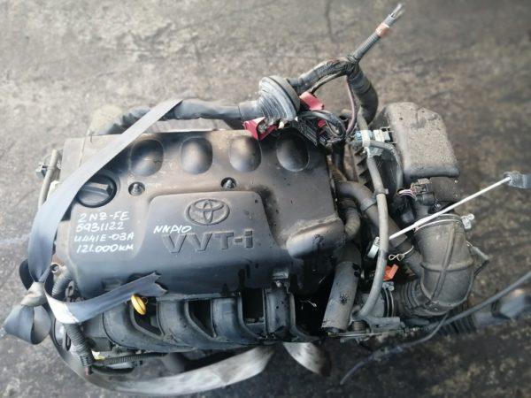 Двигатель Toyota 2NZ-FE - 5931122 AT U441E-03A FF NNP10 121 000 km коса+комп 2