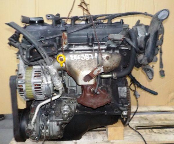 Двигатель Nissan CG13-DE - 246387A AT FF, брак крышки клапанов, без КПП 1