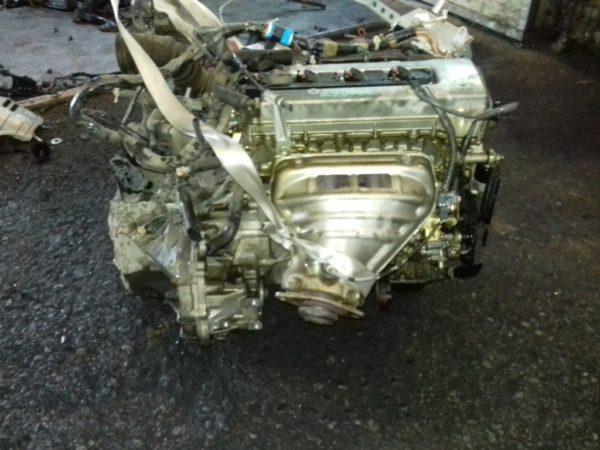 Двигатель Toyota 1ZZ-FE - 1298962 AT U341E FF ZCT10 Black 143 000 km коса+комп 3