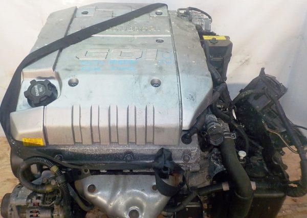 Двигатель Mitsubishi 6G72 - PP8594 AT F4A42 FF F31A GDI MD352147 84 000 km коса+комп 2