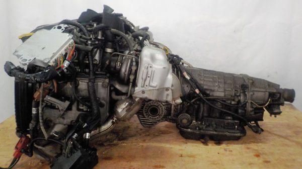 Двигатель Subaru EJ20-TT - B546213 AT TV1B4YBDAB 4WD BH5 EJ206DXDBE комп 5