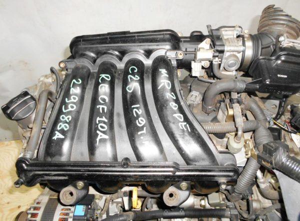 Двигатель Nissan MR20-DE - 229988A CVT RE0F10A FF C25 129 000 km коса+комп 7
