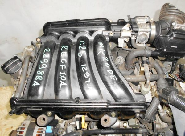 КПП Nissan MR20-DE CVT RE0F10A FF C25 7