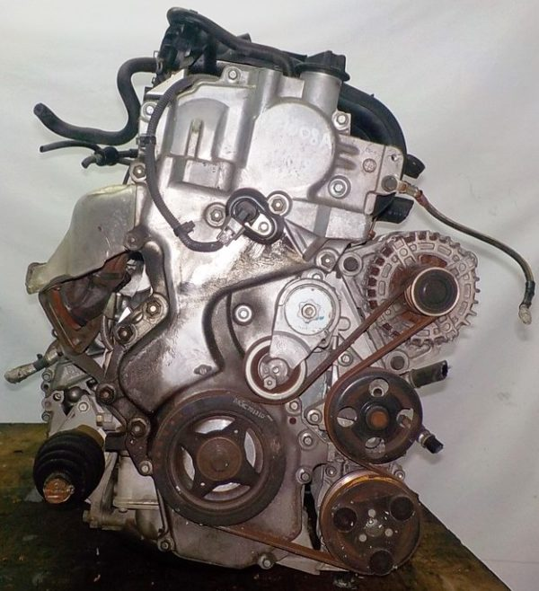 Двигатель Nissan MR18-DE - 057008A CVT RE0F08A FF коса+комп 3