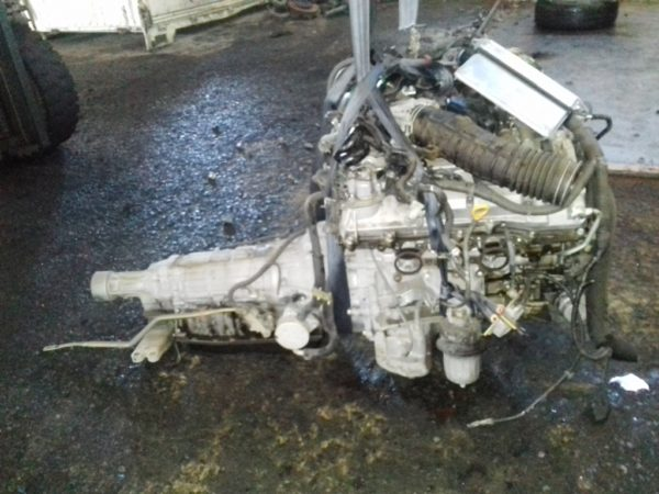 Двигатель Toyota 3GR-FSE - 0028039 AT A760E FR GRS182 коса+комп 4