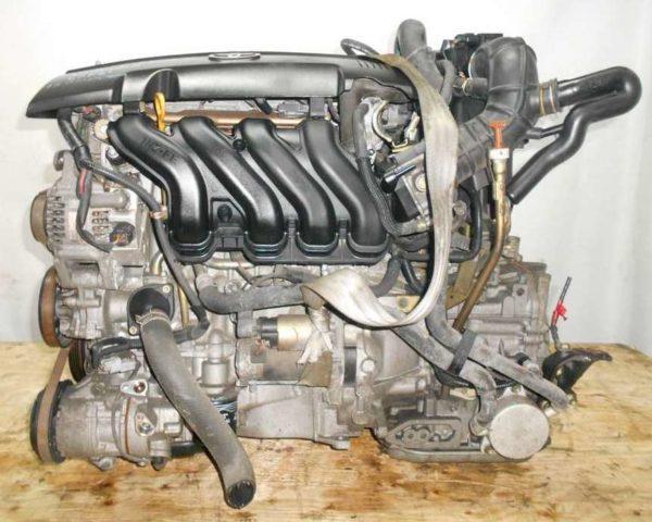 Двигатель Toyota 1NZ-FE - B362674 CVT K210-02A FF NCP81 137 000 km электро дроссель коса+комп 1