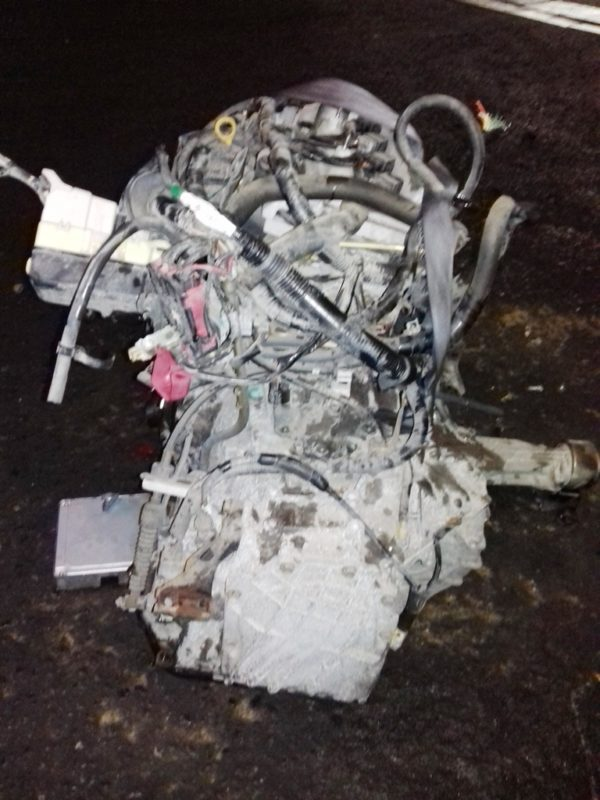 Двигатель Toyota 1NZ-FE - B156648 AT U340F FF 4WD NCP85 124 000 km механический дроссель коса+комп 4