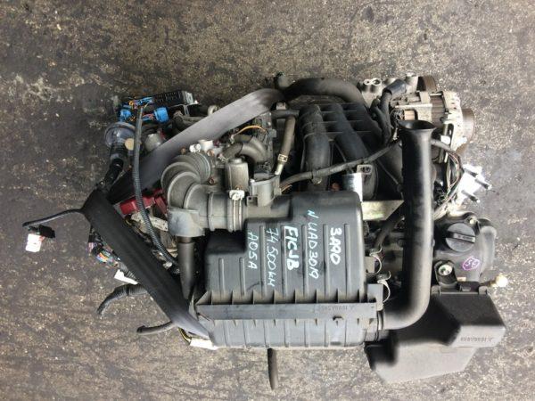 Двигатель Mitsubishi 3A90 - UAD3019 CVT FICJB FF A05A 74 500 km коса+комп 2