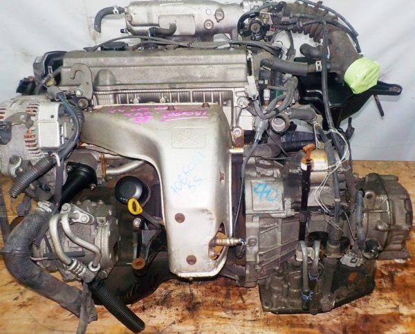 Двигатель Toyota 5S-FE - 1065081 AT A541F FF 4WD Gracia коса+комп 2