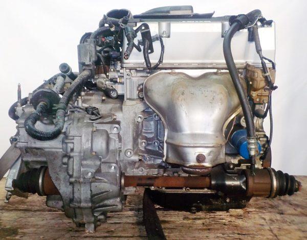 КПП Honda K24A Odyssey коса+комп, брак крышки АКПП 4