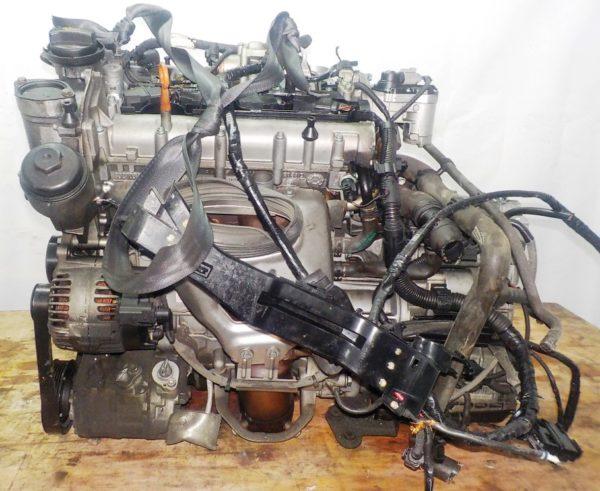 Двигатель Volkswagen BLF - 079660 AT FF WWWZZZ1K25W197305 90 000 km коса+комп 1