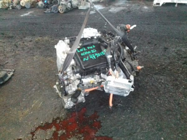 Двигатель Toyota 1NZ-FXE - 4790185 AT FF NHW20 84 000 km коса+комп 5