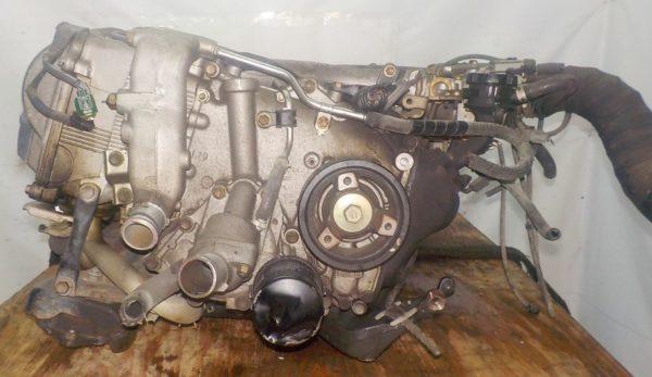 Двигатель Toyota 2TZ-F - 1591158 AT 30-40LE 35000-28870 FR 4WD 1