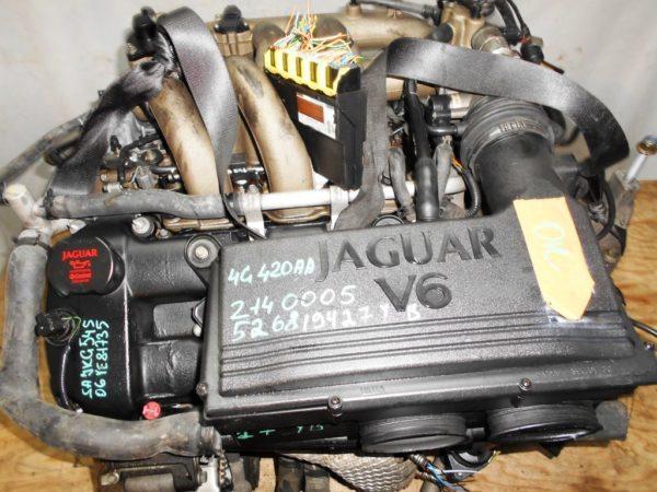 Двигатель Jaguar YB - 526819427 AT FF 65 000 km коса+комп 2