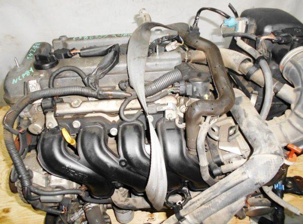 Двигатель Toyota 1NZ-FE - C388939 CVT K210-02A FF NCP81 электро дроссель коса+комп 3