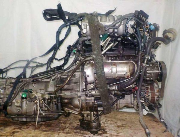 Двигатель Nissan VQ35-DE - 577810A AT FR 4WD Elgrand коса+комп 7