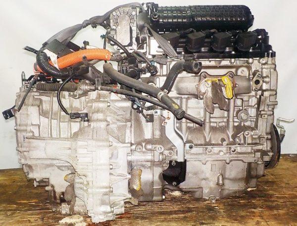Двигатель Honda LDA - 5214840 CVT SE7A FF GP1 коса+комп 5