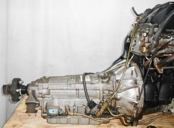 Двигатель Toyota 2JZ-FSE - 0753420 AT 35-50LS A650E-A02A FR JZS177 119 000 km коса+комп, нет выпускного коллектора 6