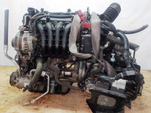 Двигатель Mitsubishi 4A90 - 0027051 CVT F1C1A FF Z21A 59 714 km коса+комп 1