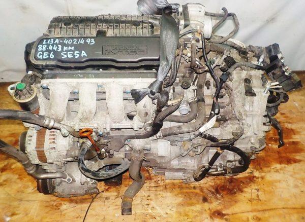 Двигатель Honda L13A - 4021493 CVT SE5A FF GE6 88 443 km коса+комп 2