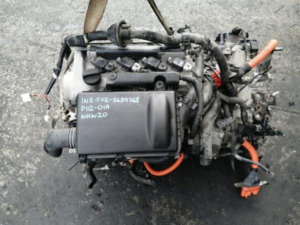 Двигатель Toyota 1NZ-FXE - 3639768 AT P112-01A FF NHW20 коса+комп 2