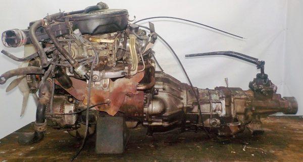 Двигатель Toyota 7K - 0173547 5MT FR carburator 1