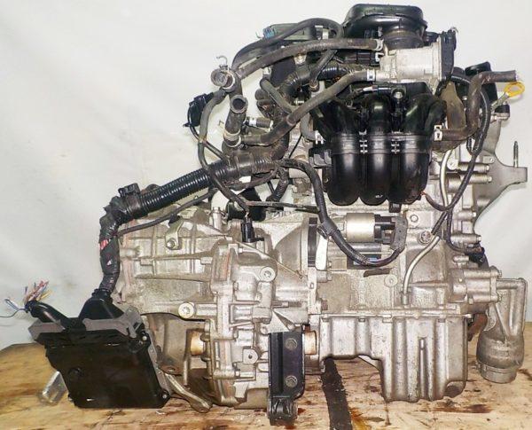 Двигатель Toyota 1KR-FE - 0997090 CVT K410-04A FF KSP90 коса+комп 4