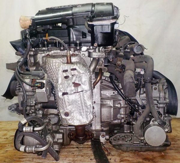 Двигатель Toyota 1KR-FE - 0143470 CVT K410-04A FF KSP90 коса+комп 1