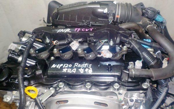 Двигатель Toyota 1NR-FE - 8288770 CVT K411-01A FF NSP120 коса+комп 2