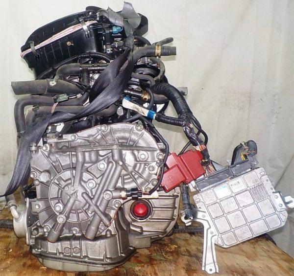 Двигатель Toyota 1KR-FE - 0143470 CVT K410-04A FF KSP90 коса+комп 5