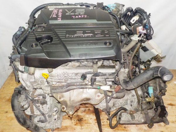 Двигатель Nissan VQ25-DD - 128620A AT RE4F04B FF A33 NEO без датчика скорости коса+комп 2