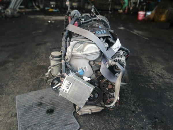 Двигатель Toyota 2NZ-FE - 5931122 AT U441E-03A FF NNP10 121 000 km коса+комп 4