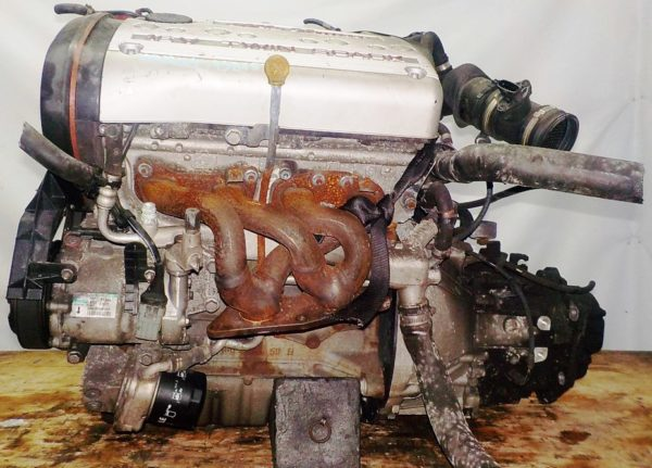 Двигатель Alfa Romeo AR32104 - 938157 MT FF 147 Twin Spark 142 247 km коса+комп 1
