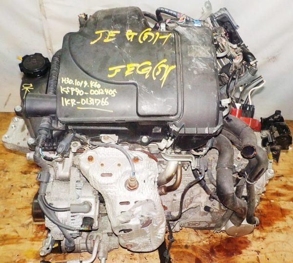Двигатель Toyota 1KR-FE - 0131766 CVT K410-04A FF KSP90 коса+комп 2