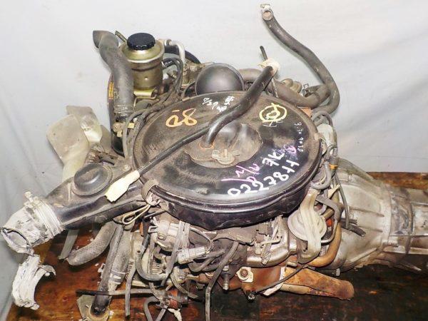 Двигатель Toyota 7K - 0223811 5MT FR carburator 6