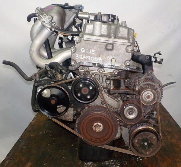 Двигатель Nissan QG15-DE - 324900B MT RS5F70A FF Silver электро дроссель коса+комп 3