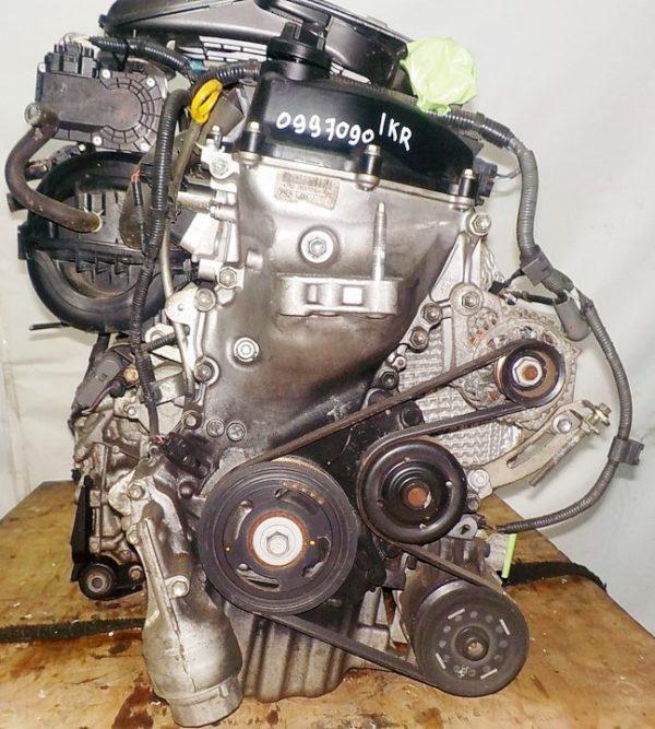 Двигатель Toyota 1KR-FE - 0997090 CVT K410-04A FF KSP90 коса+комп 3