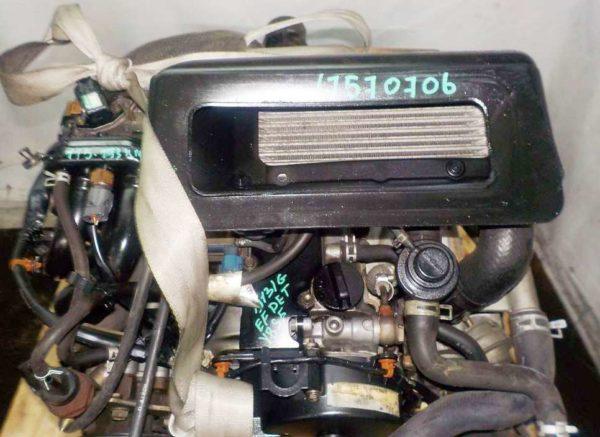 Двигатель Daihatsu EF-DET - 7570706 AT YBS5 FR J151G 115 193 km 2