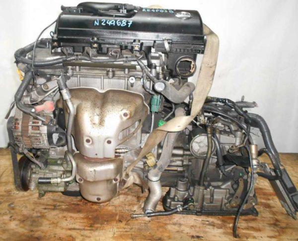 Двигатель Nissan CR14-DE - 249687 AT RE4F03B FF Z11 102 000 km коса+комп 1