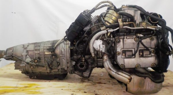Двигатель Subaru EJ20-TT - B486342 AT TV1B4YBDAB 4WD BH5 EJ206DXDBE 153 967 km комп 6