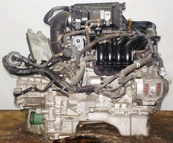 Двигатель Suzuki K12B - 1006164 CVT FF ZC71S коса+комп 4