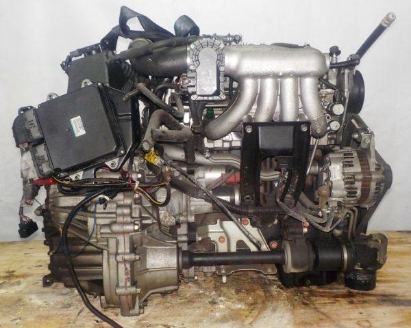 Двигатель Mitsubishi 4G15-T - JN3851 CVT F1C1A FF Z27A 147 724 km коса+комп 4